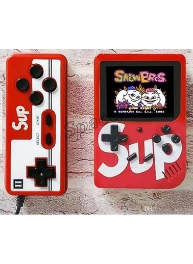 "Sup Sup Gameboy -Atari Video Oyun Konsolu 3"" 400 Oyunlu (2 Oyunculu) Kırmızı"